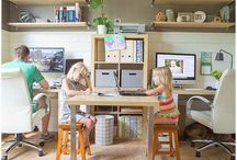 Home Office / Home office for the whole family.