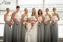 Bride/maids dresses
