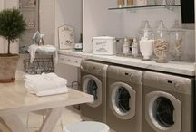 home | laundry / Ways to make the laundry room a bit more fun.