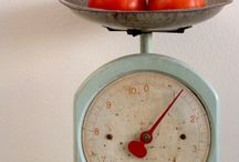 Vintage Scales / Don't you remember going to your local butcher or fishmonger and see those scales they were using at that time. I think they really had a great design, probably why people are collecting them nowadays! Wouldn't you try to find one at least and give it a space in your kitchen? I would! And why not using one as a book display in your living room or on your desk? Have a look at those and decide which one you would like! And visit www.laboutiquevintage.co.uk I might have some French ones!
