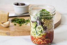 Convenient noodle jar recipes