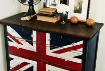 Union Jack DIY / Union Jack DIY love! / by Catherine Cook