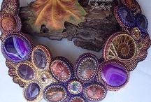 Beaded jewelry by Ekaterina Pluzhnikova