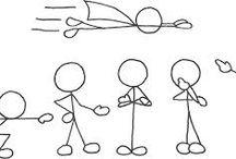 stick figures