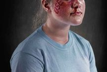 Anti-bullying photos / 7 photos for 7 types of bullying for anti-bullying week 2015.  Types of bullying: Physical, verbal, cyber, covert, sexual, prejudicial, emotional.  (Pinners - please check facebook group for definitions of the above)