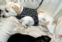 Dogs sewing patterns