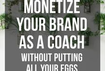 Grow Your Coaching Biz / Tips for Life Coaches, Health Coaches, etc who want to get more clients and grow their biz!