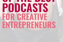 Work & Business Podcasts / Find the best podcasts for business and work. No matter what industry you work in, there are podcasts for you! Podcasts for bloggers, podcasts for managers, podcasts for entrepreneurs, and more.