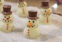 Jul pyssel och dessert