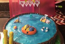 Ben's pool party