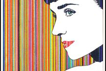 """Color Lines / BUY 2 GET 1 MORE FREE! """"Color Lines"""" Top Quality Professional Art Prints."""