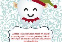 Salud bucal y Navidad / Cuidados en la alimentación