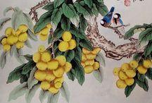 Китайская живопись  Chinese painting 1