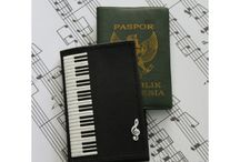Pasport Cover / Music pasport cover.