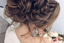Hairstyles and dresses