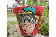 porcelana y pintura