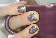 Color Street Nails / Color Street Nail manicures from these amazing and fun nail polish strips.