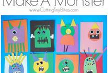 Halloween / Halloween activities and crafts for kids