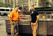 """Coyote on FOX / Pictures of the #OutdoorKitchen segment on """"The Willis Report"""" with #KitchenCousins Anthony Carrino"""
