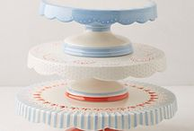 Cake plates and carries / by Crystal Barker