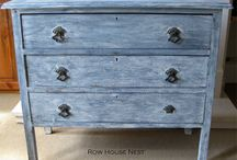 Lime Washed Furniture