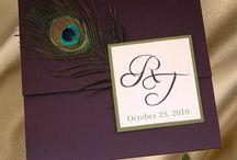 Peacock Wedding Invitations / by InvitesWeddings