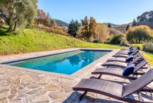 1159 Green Valley Road, Napa, CA:  Contact Randy Waller 707.843.1382 randy@wrealestate.net / 19+ acre estate in the heart of Napa Valley – Spectacular home features gorgeous vineyards, a pond and incredible outdoor living. Outdoor amenities include a bocce ball court, pool, mature gardens and a tennis/basketball court. This ultra-private, gated property includes a 5 bedroom, single level home perched over stunning vineyard and valley views. Open floor plan with expansive kitchen and living areas are perfect for entertaining guests. A truly special piece of the world famous Napa Valley.
