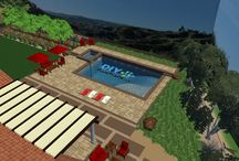 Swimming Pool Design and Pool Plans / Custom swimming pool and landscape design. From the simple to elegant, we design backyards to fit lifestyle and budget.