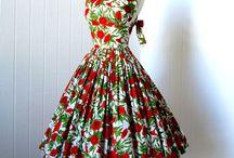 Gyönyörűség / 50-es évek ruhái