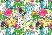 I❤Patterns / Available for sale at Spoonflower! / by Eloisa Docton
