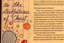 *2 Thessalonians--Bible Journaling by Book / Bible Journaling examples from the book of 2 Thessalonians