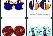soAfrican Accessories / African Style Statement Jewelry