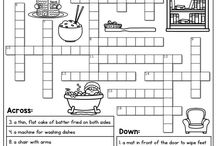 Crosswords and puzzles