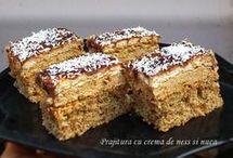 prăjitură cu cremă de ness
