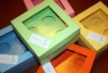 Wrappers / Cajas y/o envolturas para Cupcakes