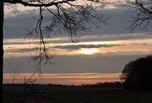 Zonsondergangen Mantingerveld