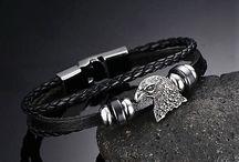 Trendy Armband Echtes Leder Adler Optik Neu 11,90 Euro