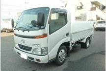 Toyota Dyna Truck 2002 White- Good Trucks of high grade are available / Refer:Ninki26719 Make:Toyota Model:Dyna Truck Year:2002 Displacement:3700cc Steering:RHD Transmission:MT Color:White FOB Price:10,400 USD FuelDiesel Seats  Exterior Color:White Interior Color:Gray Mileage:257,000 km Chasis NO:BU306-5001582 Drive type  Car type:Trucks