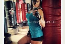 Dumbbellhousewife GYM FASHION / Gym girls live in their workout clothes. Might as well look like a SEXY BEAST in them.