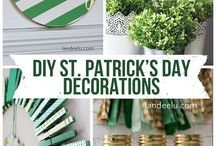 St. Patrick's Day decor and treats