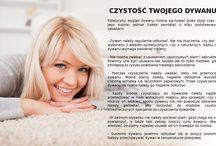 Dywanowe porady / Higiena dywanu, czyszczenie dywanów, jak utrzymać porządek w mieszkaniu.