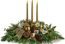 christmas / Christmas centerpieces, vases and table arrangements, the perfect gift for the holidays.