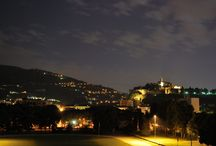 Brescia - Millemilasecondi di esposizione / Brescia e dintorni fotografata di notte da uno chiunque.