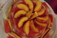 Meyveli yazlik pasta / Renkli yazlik meyveli pasta