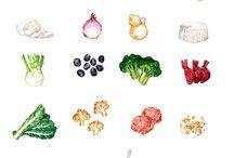 Food Illustration / Food illustration
