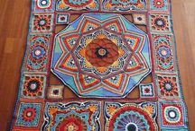 Persian and Granny blankets