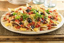 Tortilla Chips / We love tortillas. They are great with salsas and dips, but can also be the secret ingredient in many dishes and desserts. Try out some of these recipes using our Barrel O' Fun tortilla chips!