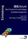 Events @ IBS QMS / Die IBS QMS-Events - immer die aktuellsten Tipps und Trends im Qualitätsmanagement, Produktionsmanagement, Compliance und Traceability Management!