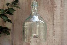 WINE BOTTLE IDEAS / by Stephanie Brown