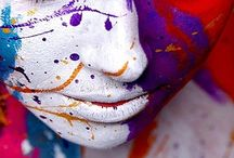 Painted Faces Shooting